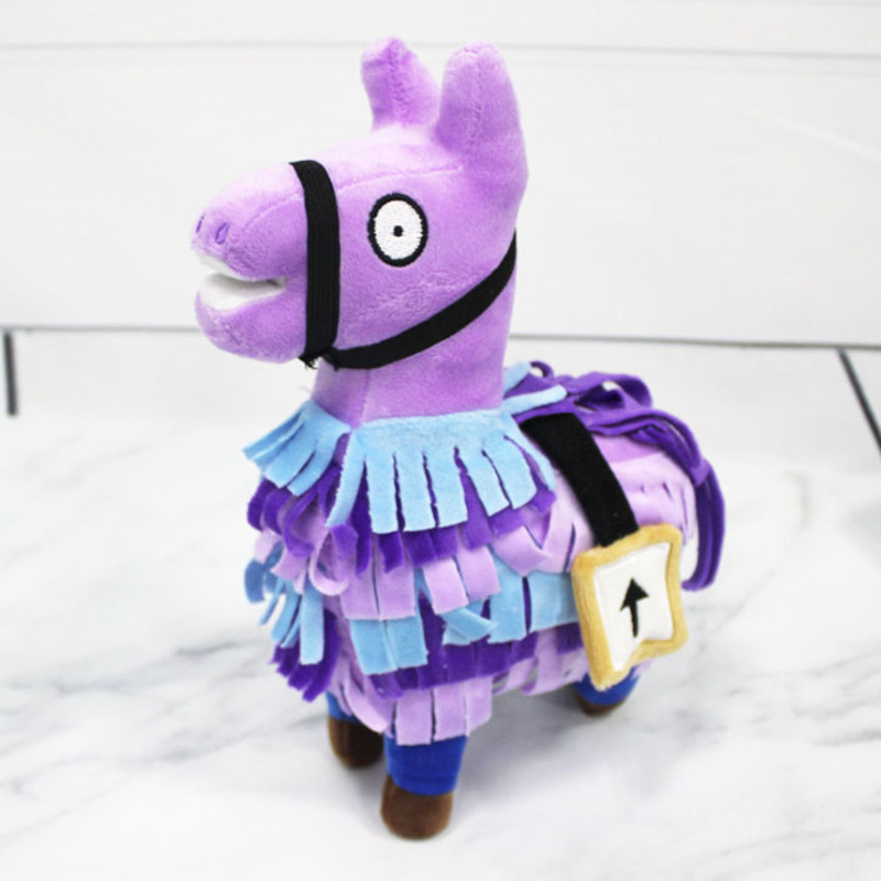 Fornight Troll Stash Llama Plush Toy Game Alpaca Rainbow Horse Toys Cute Stuffed Fortress Night Dolls Kids Gift Christmas Gifts hot game troll stash llama plush baby toy soft alpaca rainbow horse stash stuffed doll toys kids birthday gift friends