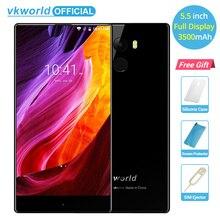 "Vkworld Mix 5.5 ""полный Экран 3500 мАч 2 ГБ Оперативная память 16 ГБ android7.0 смартфон mtk6737 4 ядра 8MP + 5mp отпечатков пальцев 4 г LTE телефон"