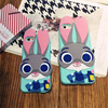 Zootopia 3D Cartoon Cute Judy Case For Coque IPhone 6 4 7 Inch Case Silicone Carcasa