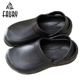 zapatos cocina de antideslizante XqnwwzH0 trabajo Alta zapatos negro  calidad THnqfOgqw d61baa7f1d66