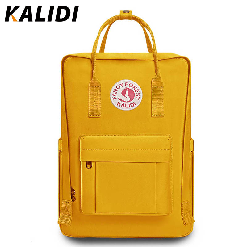 KALIDI Fashion Backpack Women Casual Student Backpack Female Laptop Backpack For Teenage Grils Waterproof Daypack Mother MochilaKALIDI Fashion Backpack Women Casual Student Backpack Female Laptop Backpack For Teenage Grils Waterproof Daypack Mother Mochila