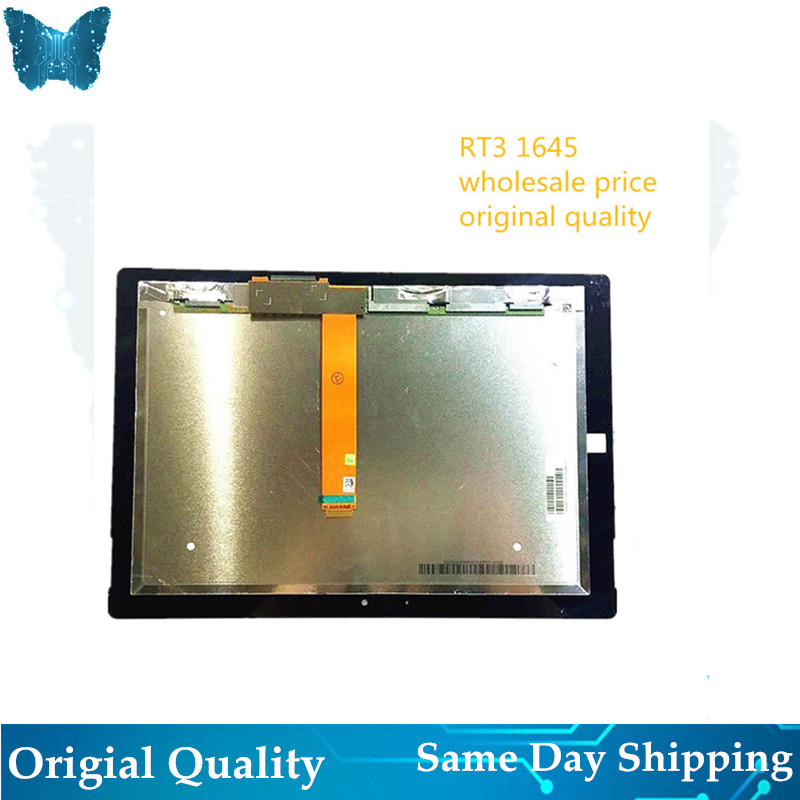 Wholesale Original Touch With Lcd RT 3 1645 For Microsoft Surface RT 3  LCD Display Touch Screen Digitizer Assembly