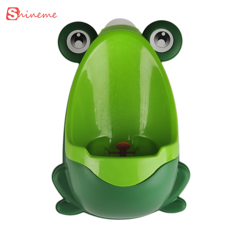 cute animal design Plastic stand urine baby toilet Seat cover with frog drawer potty toilet small infants and young children