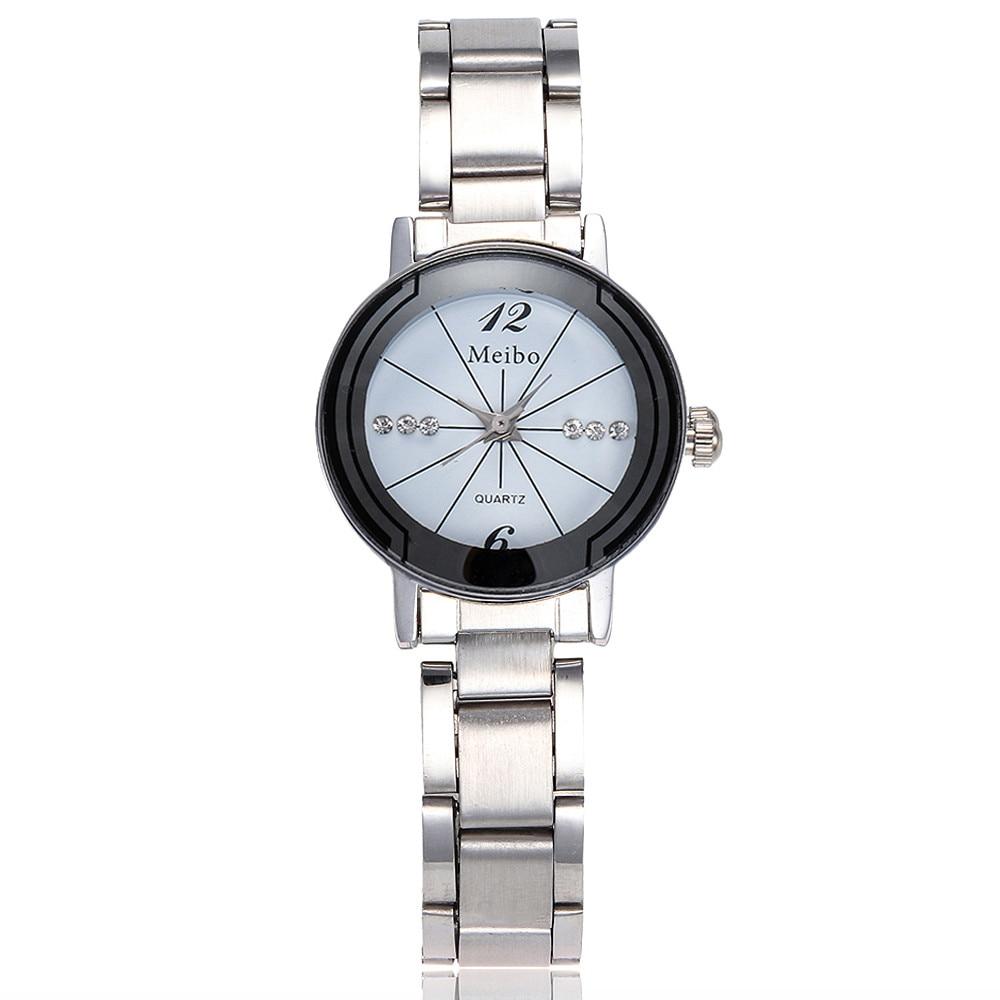 Best Selling Women Watches Featured Dial Ladies Casual Quartz Wristwatch Alloy Strap Business Unisex Clock Zegarki Damskie533