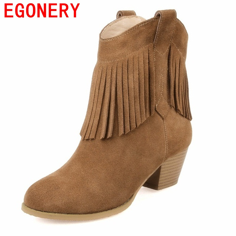 ФОТО EGONERY shoes 2017 fashion ankle boots women women boots fashion riding equestrian round toe high quality square high heels lady