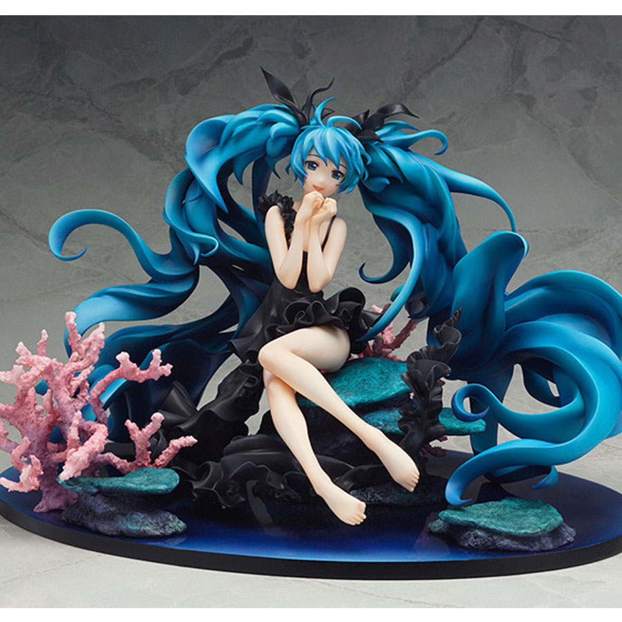 Virtual Singer Hatsune Miku Deep Sea Girl Ver Anime Figure 15cm 1/8 Scale PVC Action Figure Model Collection Toys Christmas Gift практик ms 200 100х60 6 ms 3 2010 6
