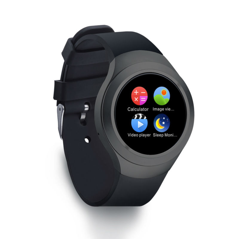ФОТО Sim Card Smart Watch L6S Bluetooth Smartwatches Circle Touch Screen Wristwatch for Fitness Tracker Watch Support Voice Call