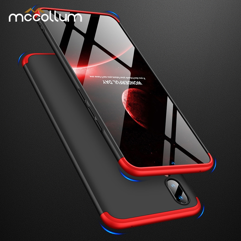 360 Full Protection Hard PC <font><b>Case</b></font> For <font><b>Vivo</b></font> V11 Pro V11i V15 Y95 Y93 Y85 <font><b>Y83</b></font> X23 X21 UD Y79 Y75 Y71 Y67 X9 X7 X6 X20 Nex S A Cover image
