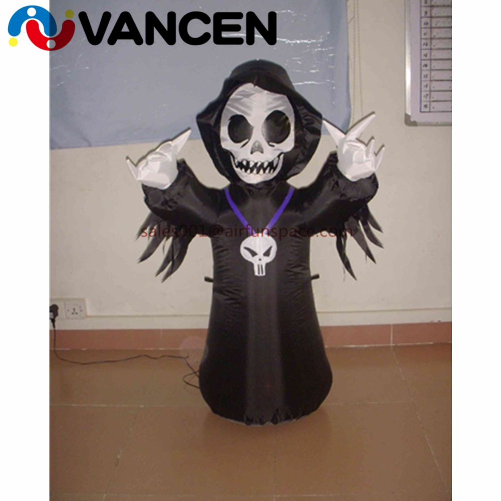 3mH black halloween inflatable ghost with led light factory price inflatabke halloween ghost for decoration for kids3mH black halloween inflatable ghost with led light factory price inflatabke halloween ghost for decoration for kids