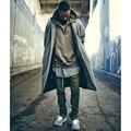 Kanye West Sknning Mens Corredores de Rua Slim Fit Hip Pop Motociclista calças De Compressão Homem presa Streetwear Sweatpants Calças Plissadas