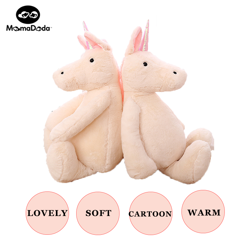 Plush Stuffed Toys Unicorn Toy for Kids Big Size Animal Unicorn Dolls Horse Soft Christmas gift Birthday gift for girlfriend happy toy hot sale life size horse toy mechanical horse toys walking horse toy