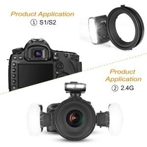 Image 3 - Meike MK MT24 Macro Twin Lite  Speedlight Flash for Canon DSLR Camera 70D 60D 760D 750D 550D 450D 1200D  5D 6D EOS M3 + VK Q3
