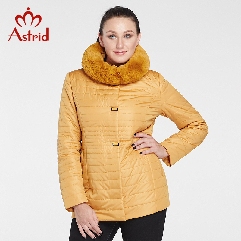 Astrid 2017 Women Coat Marten Hair Winter Parkas Winter Jackets Big Size Warm Fashion Jacket Woman