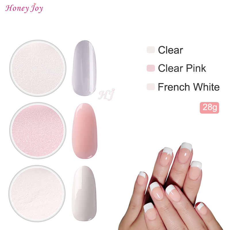 3pcs/set French Manicure Kits 28g/Box Dipping Powder Without Lamp Cure Nails Dip Powder Gel Nail Color Powder Natural Dry
