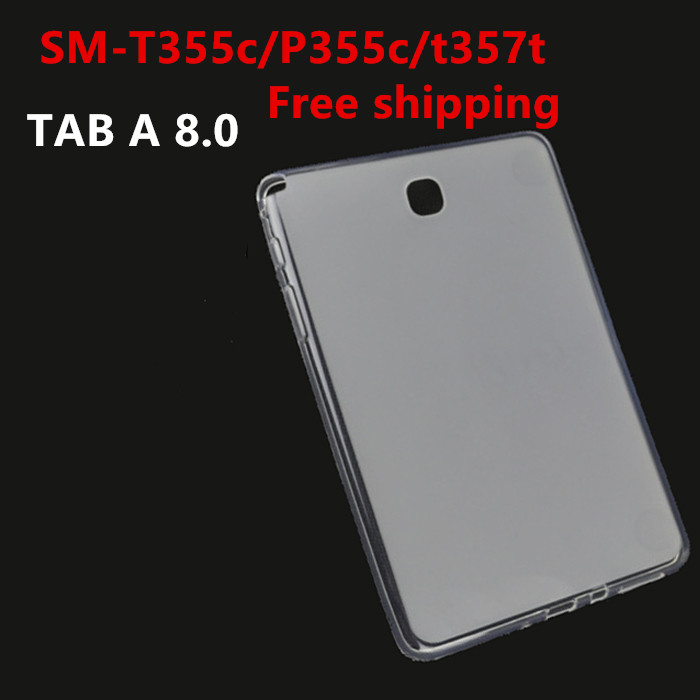 T355c/P355c/t357 Soft TPU Silicone Back Cover Case for Samsung Galaxy Tab A 8.0 SM T351 T355 T350 tablet case Protective shell print pu leather case cover for samsung galaxy tab a 8 0 t350 t351 sm t355 tablet cases for samsung t355 p355c p350 8 inch