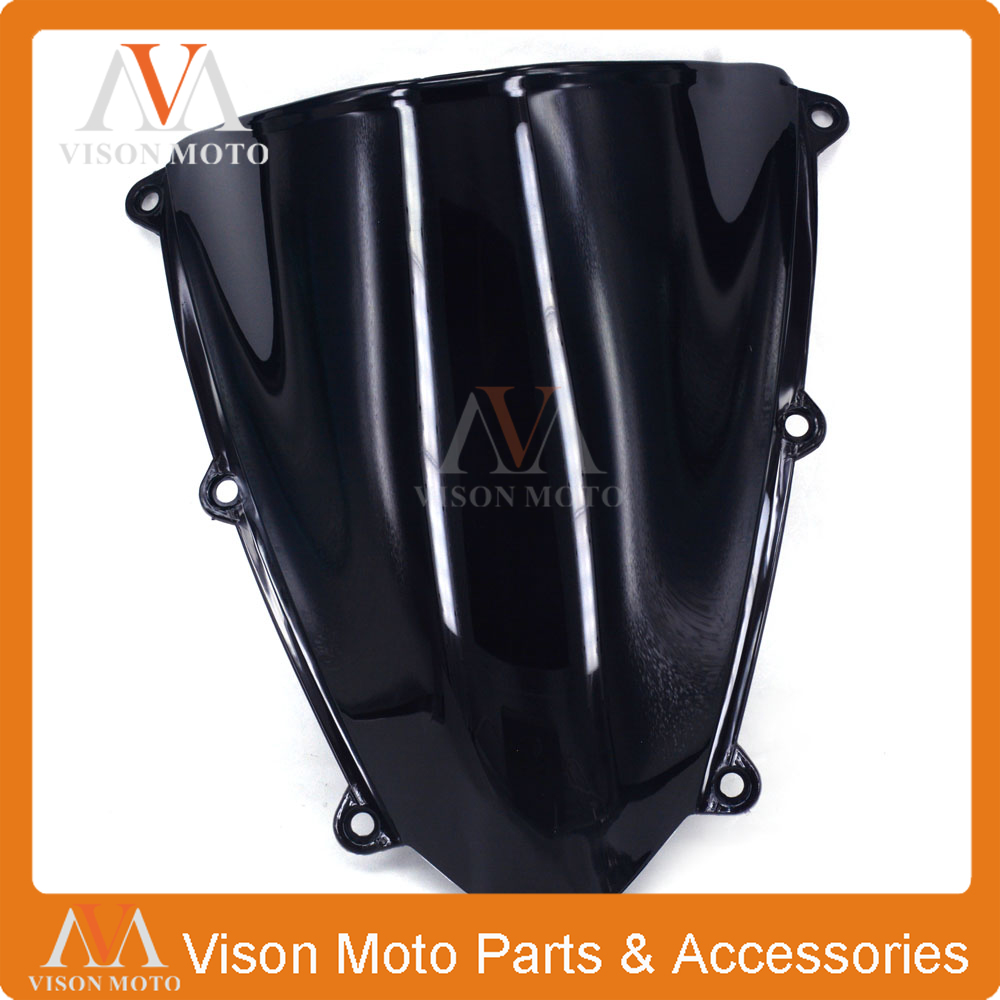 Motorcycle Winshield Windscreen For HONDA CBR600RR F5 CBR 600 CBR600  RR F5 2007 2008 2009 2010 2011 2012 engine alternator clutch ignition cover set kit for honda cbr600rr cbr 600 rr 2007 2008 2009 2010 2011 2012 2013 2014 2015 2016
