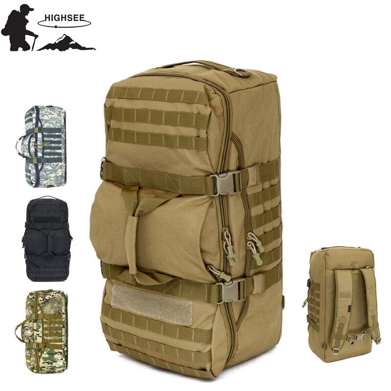 Mochila de Acampamento Outdoorer Tático Militar Mochila Caminhadas Bolsa Homem Camuflagem Esportes Volta Pacote