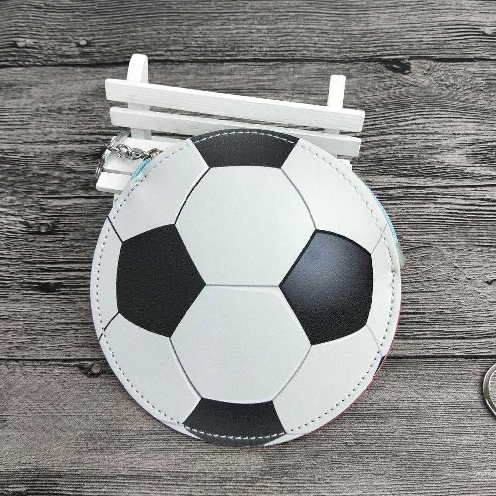 Capable Football Cash Outdo Bags Designer Coin Purse Pu Soccer Baseball Shape Bag Key Cash Coin Wallet Plush Zipper Design 13*13cm Discounts Sale