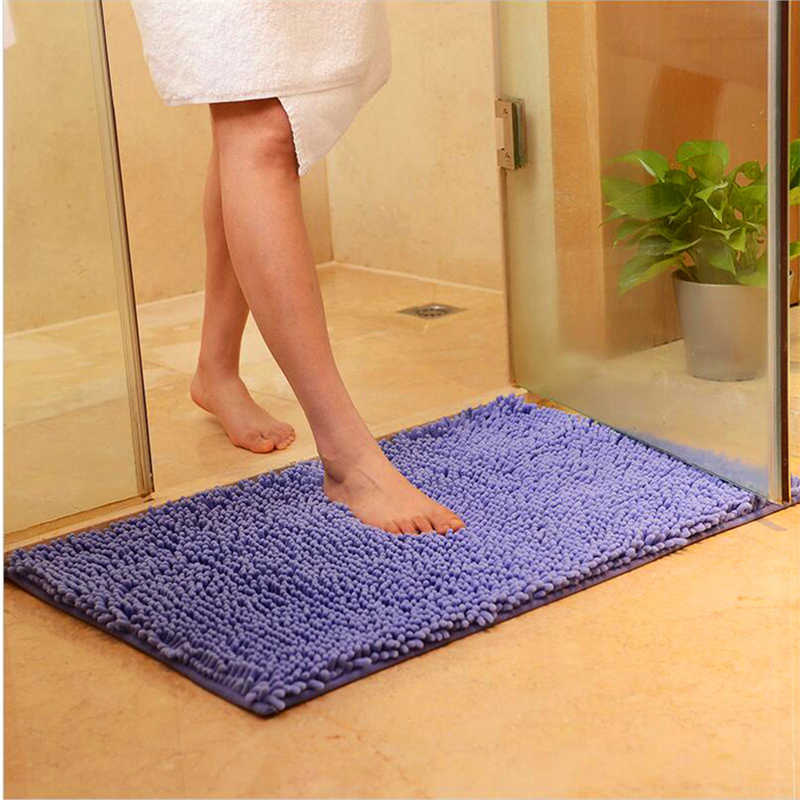 Felpudo alfombra antideslizante de absorción de agua alfombra de cocina alfombra de puerta alfombra de cocina alfombra de baño pasillo porche felpudo 40x58cm