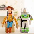 Toy Story Buzz Lightyear y Woody Sheriff muñeca de peluche de juguete, Woody Sheriff MW-04 doll regalo envío gratis