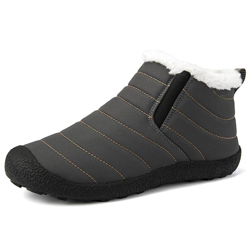 Warnen Super Warm Männer Winter Stiefel Für Frauen Warme Wasserdichte Regen Stiefel Schuhe 2019 Neue Männer Ankle Schnee Boot Chaussure Homme