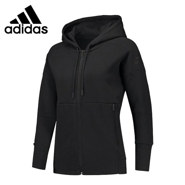 537d67ee Original New Arrival 2018 Adidas W Id Stadium Hd Women's jacket Hooded  Sportswear
