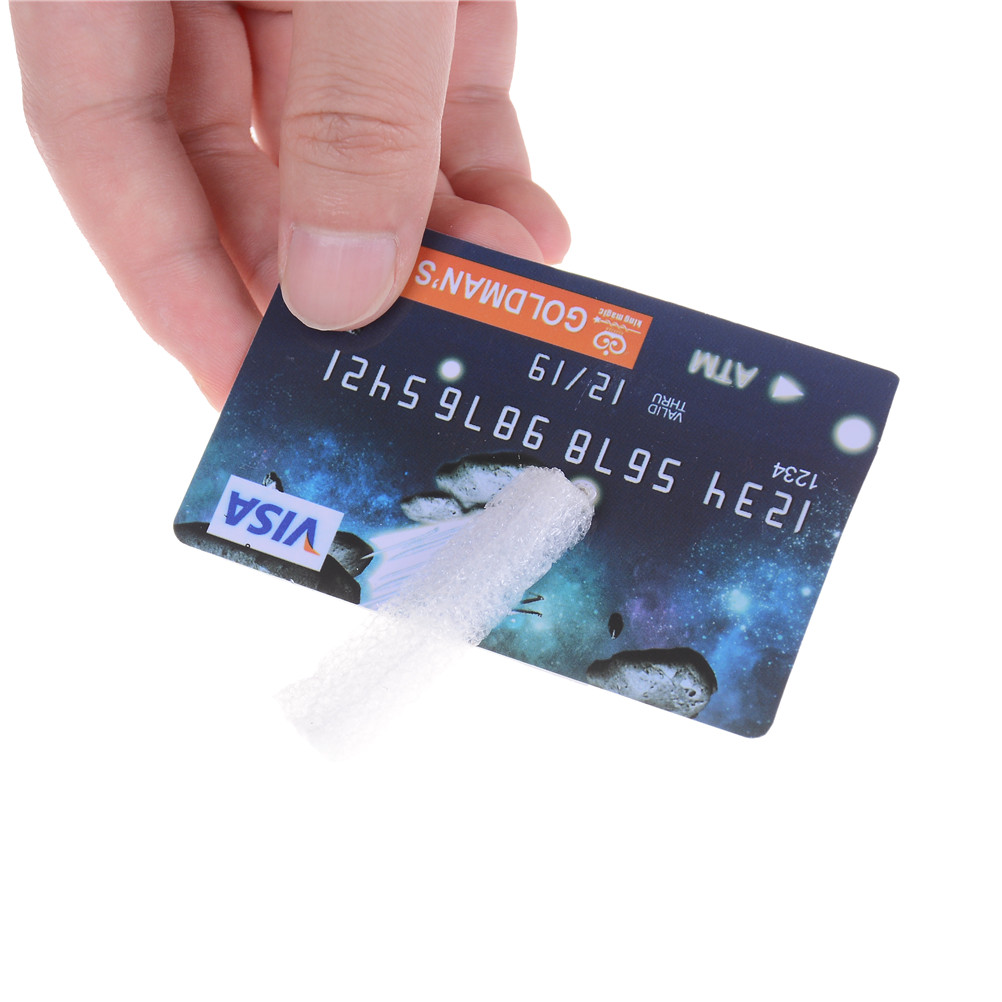 Suspend Credit Card Magic Tricks Profesional Cigarettes Floating Close Up Stage Props Magician Magie Illusion Mentalism Gimmic