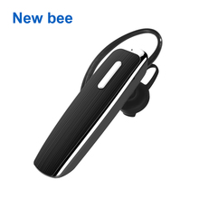 New Bee Portable Hands-free Wireless Bluetooth Earphone Headphones Headset Earbud with Microphone Earphone CSR4.0 for Phone PC