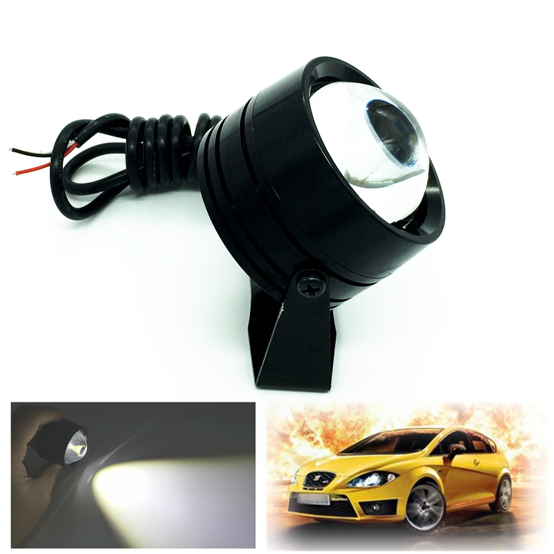 High Power External LED Eagle Eye Flash DRL Daytime Running Light Car Styling Waterproof Warning Fog Lamp Parking Lights