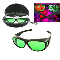 Professional protection hydroponic indoor LED grow room UV / IR glasses polarization UV lamp for plants protect glasses
