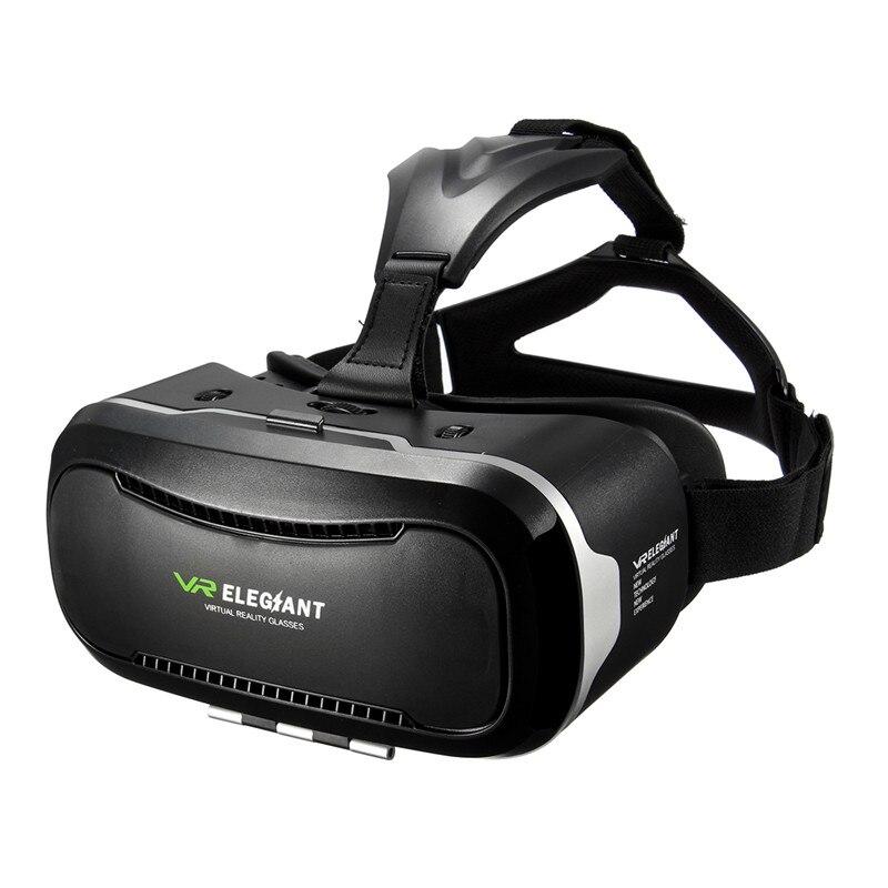 NEW ELEGIANT 2 Generation Smart VR <font><b>Virtual</b></font> <font><b>Reality</b></font> <font><b>Glasses</b></font> 3D Games VR Immersive Headset Cardboard <font><b>for</b></font> <font><b>4.0</b></font> - <font><b>6.0</b></font> <font><b>inch</b></font> Smartphone