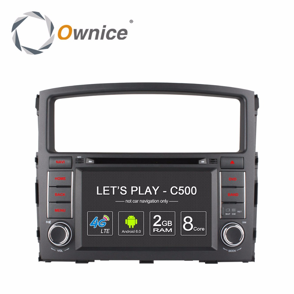 Ownice 4G Android Car DVD font b Multimedia b font Video Player for MISUBISHI Pajero 2006