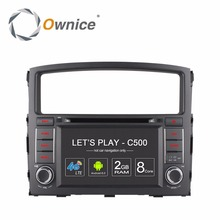 Ownice 4G Android Car DVD Multimedia Video Player for MISUBISHI Pajero 2006 2007 2008 2009 2010 2011 Auto GPS Navigator Radio PC