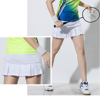 1dc7589c14 2018 New Men Shorts Skort Woman Sports Skirts Ladies Tennis Skirt Leggings  Running Tennis Shorts Women