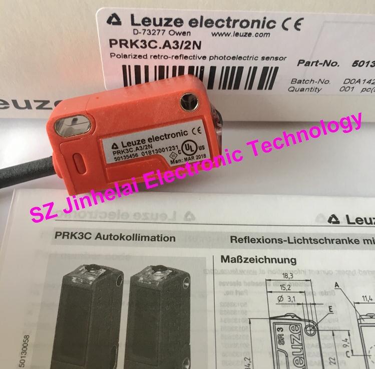 New and original PRK3C.A3/2N LEUZE Photoelectric switch Photoelectric sensor hrtr 3b 2 7 new and original germany leuze photoelectric switch photoelectric sensor