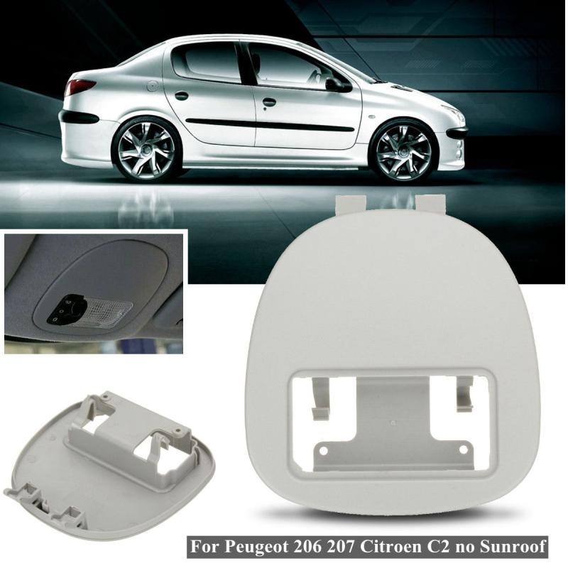 Car Auto Front Interior Dome Reading Light Lamp Cover Panel for Peugeot 206 207 for Citroen C2