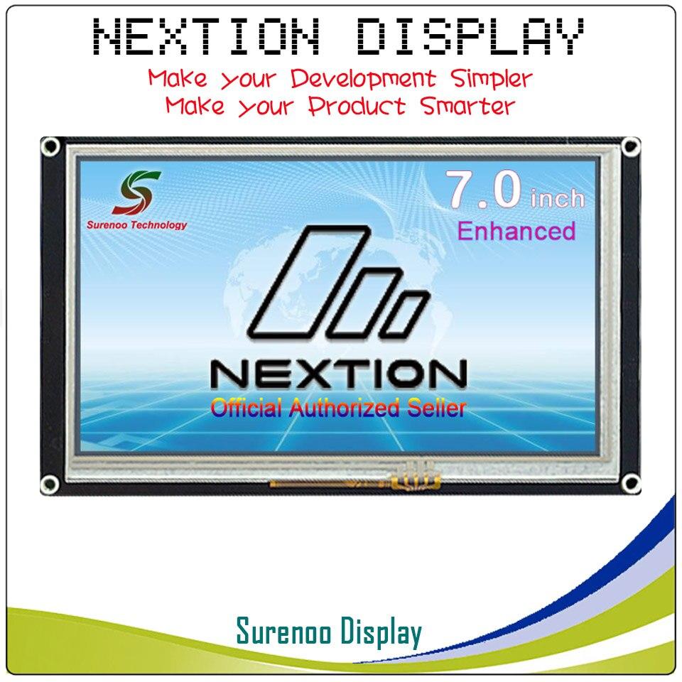 7,0 Nextion Enhanced HMI умный USART UART серийный сенсорный TFT ЖК дисплей модуль дисплей Панель для Arduino наборы Raspberry Pi