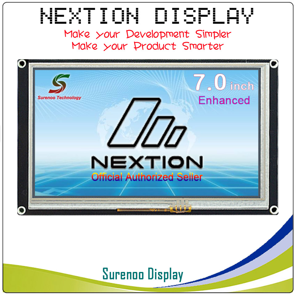 7.0 Nextion Renforcée HMI Intelligente Smart USART UART Série Tactile TFT LCD Module Panneau D'affichage pour Arduino Raspberry pi