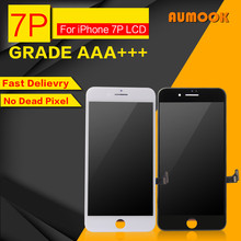 Фотография 10PCS/LOT Quality AAA No Dead Pixel LCD For iPhone 7 Plus LCD Touch Screen Digitizer Assembly Display Replacement Free Shipping