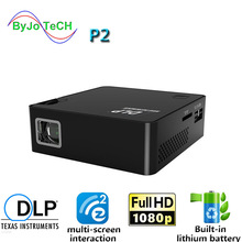 Projector Interactive Wireless DLP Byjotech HD with Ezcast Multi-Screen Built-In-Battery