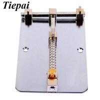 Tiepai 1piece Stainless Steel Cell Phone PCB Repair Holder Platform Maintenance Fixtures Mobile Phone Circuit Boards