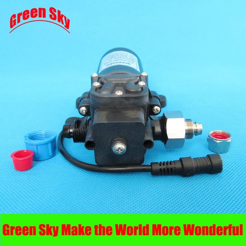 ФОТО 8L/Min 80W 12V DC high flow oil diesel water fuel pump