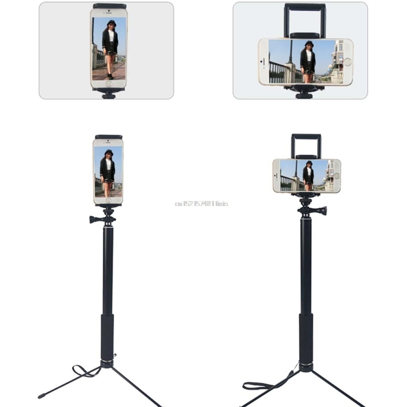 1.5m/2m Extendable Selfie Stick Tripod Stand for iPhone iPad DSLR Android Gopro 14