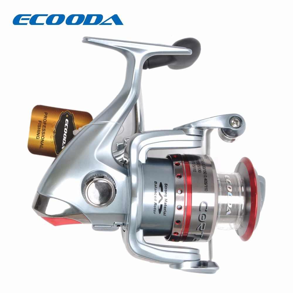 ECOODA Cortez Deluxe Spinning Angeln Reel Süßwasser/Salzwasser 8 Edelstahl kugellager Getriebe Verhältnis: 5,3: 1 CZS10/20/30/40