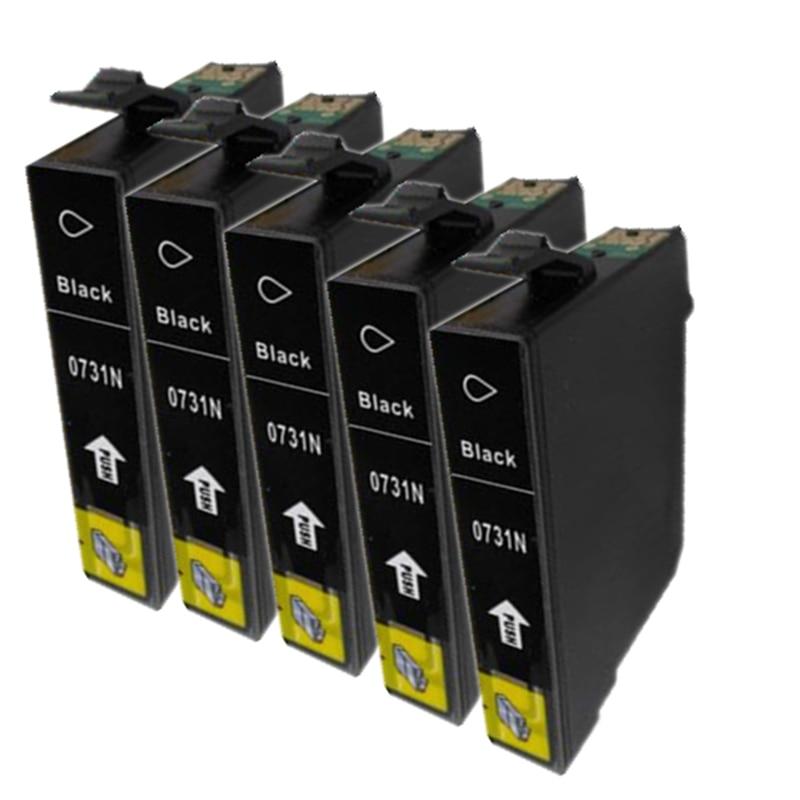 5BK 731N 73N T0731 for EPSON C79 CX5500 CX8300 CX9300 TX100 TX210 TX410 TX550w PRINTER CARTRIDGES