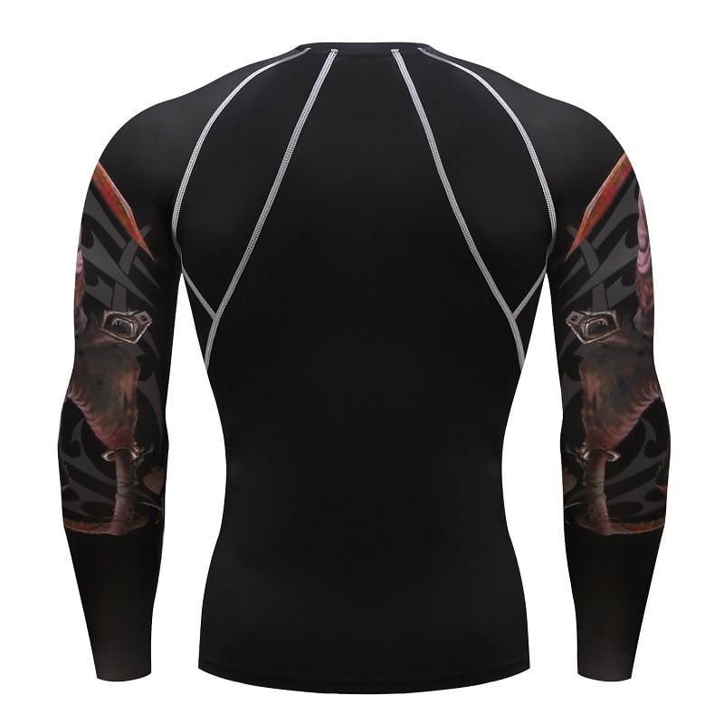 Skull Poker Majice sa kratkim rukavima Kompresija Sportske majice - Muška odjeća - Foto 2