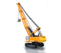 Children Alloy Toy Plastic Car Model Crane Tower Rope Excavators Can Rotate Toys Vehicles Educational Boy Gift Construction