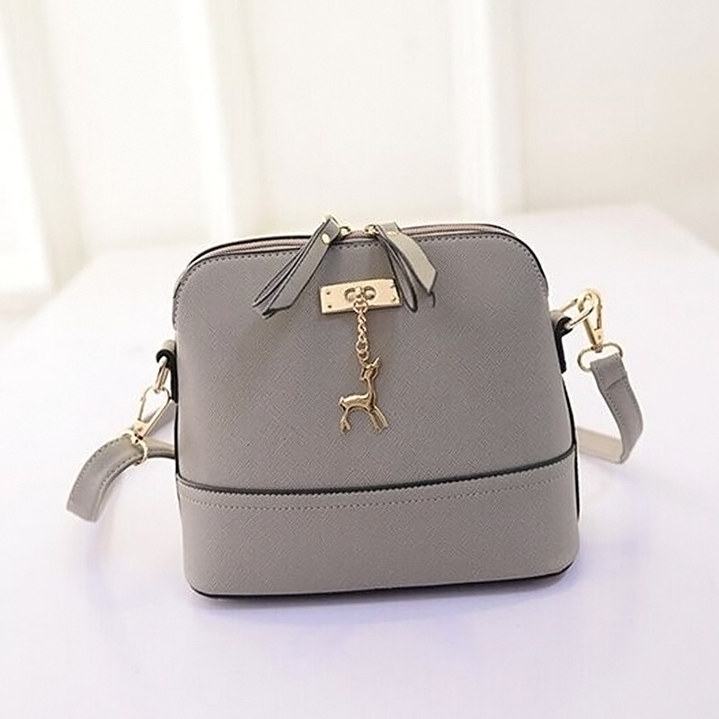 Women Vintage PU Leather Shoulder Bags