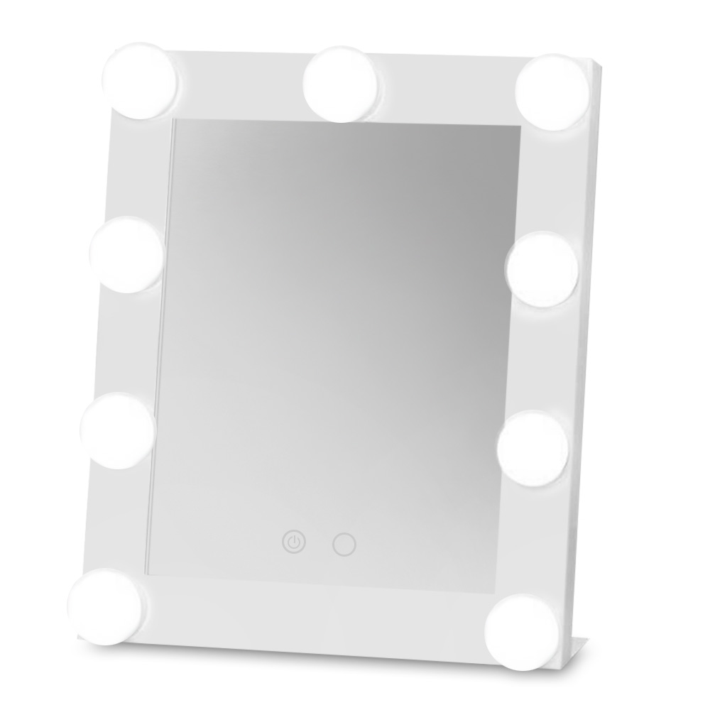 Stainless Steel Framed Mirror Fashion Women Ladies Make Up Mirror ...