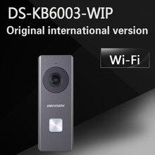 Freies verschiffen DS-KB6003-WIP Wi-Fi Türklingel Überwachungskamera Intelligente Echtzeit Zwei-wege Lautsprecher Intercom System Nacht Visio